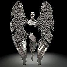 Love Heart 3D Wall Art - Scultura astratta in