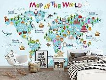 Lovemq 3D Carino Mappa Del Mondo Raig Carta Da
