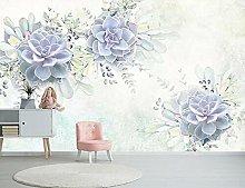 Lovemq 3D Elegante Succulente Carta Da Parati
