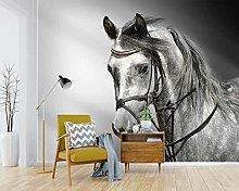 Lovemq Carta Da Parati Murale 3D Con Cavallo