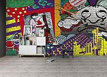 Lovemq Carta Da Parati Murale 3D Graffiti Torre