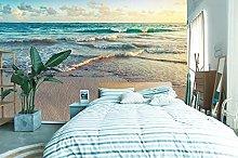 Lovemq Carta Da Parati Murale 3D Sunset Beach