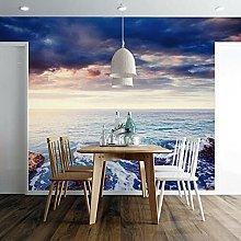 Lovemq Carta Da Parati Murale 3D Sunshine Sea