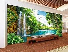 Lovemq Carta Da Parati Murale 3D Waterfall Lake