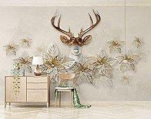 Lovemq Carta Da Parati Murale Con Petali 3Dtler
