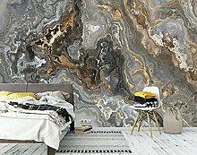 Lovemq Carta Da Parati Murale In Marmo Nero 3D