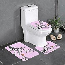 Loving Bird - Set di 3 tappeti da bagno