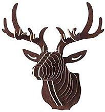 LOVIVER 3D Testa di Cervo da Parete Design da