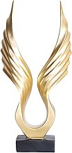 LOVIVER Eagle Wing Statua Scultura Figurina da