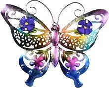 LOVIVER Farfalla in Metallo Decorazione da Parete