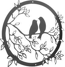 LOVIVER Siluetta Uccello Della Decorazione Della