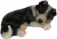 LOVIVER Statuetta in Resina Adorabile del Cane,