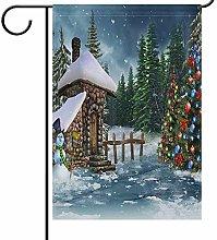 Lplpol - Bandiera per la casa invernale a due