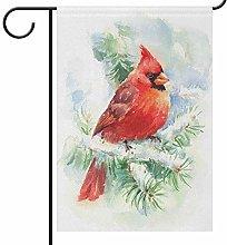 Lplpol, bandiere da giardino con uccelli cardinali