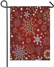 Lplpol - Bandiere da giardino in tela di canapa