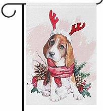 Lplpol - Bandierine per cuccioli di Natale, con