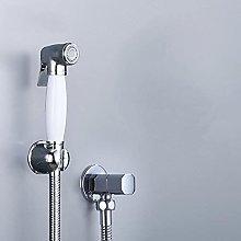 LTMJWTX Bianco Cromo Lucidato Spruzzatore Bidet