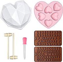 LTXDJ - Stampo per torta a forma di cuore, 7