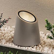 Lucande lampada da terra Andri, cemento