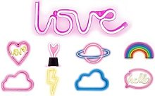 Luce Al Neon : Cuore Love