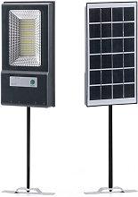 Luce del sensore solare IP44 luce bianca spazzata