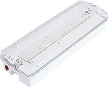 Luce di Emergenza LED 3W IP65 con AutoTest PC
