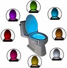 Luce Led Illuminazione 8 Colori Water Toilet Wc