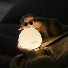 Luce LED notturna Momo Moon con batteria e USB