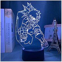 Luce notturna illusione 3D USB,3D Illusion Lamp