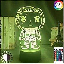 Luce notturna illusione 3D USB,3D LED Night Light