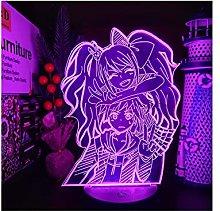 Luce notturna illusione 3D USB,Danganronpa Junko E