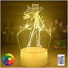 Luce notturna illusione 3D USB,Lampada da Notte 3D