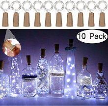 Luce per bottiglia da 10 pezzi Luce per bottiglia