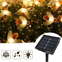 Luci a stringa solare da esterno 40 LED Bee