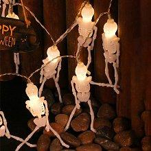 Luci decorative a corda per Halloween - Scheletro