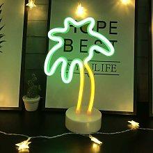 Luci della palma da cocco Luci al neon a LED con