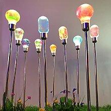 Luci Lampade Solari Da Giardino Esterno Terra a