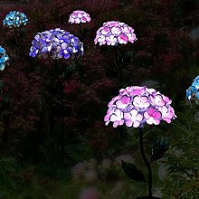 Luci Lampade Solari Da Giardino Terra Ortensia