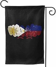 Luckchn - Bandiera da giardino con bandiera, 31,8