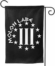 LUCKCHN Bandiera da giardino Molon Lab 31,8 x 45,7
