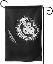 LUCKCHN - Bandiera da giardino, motivo Muppet,
