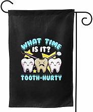 Luckchn, bandiera del giardino dentale scherzo