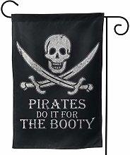 Luckchn, bandiera del giardino pirati Do It for