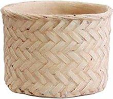Luis Vaso di Fiori nel Cemento Tessuto di bambù