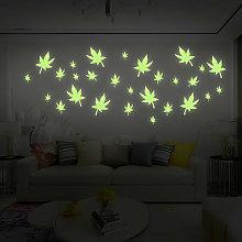 Luminous Star Art Stickers Decalcomanie Murale