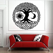 Luna E Sole Albero Della Vita Vinile Wall Sticker