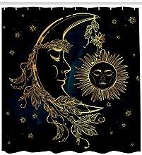 Luna egiziana composta da piume bohémien Tenda da