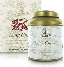 Lung Ching, tè Verde Cinese, Barattolo di Latta,