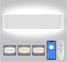 Lureshine - Lampada da parete per interni LED,