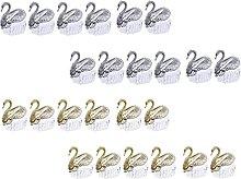 Lurrose 24Pcs Swan Caramella di Cerimonia Nuziale